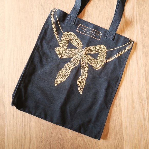 467056617a [Marc Jacobs Fragrances] Black Canvas Tote. M_5b747f3fc2e9fe822e9f889e.  Other Bags ...
